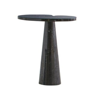 Angelo Mangiarotti Eros Side Table in Nero Marquina Marble -- Tall For Sale