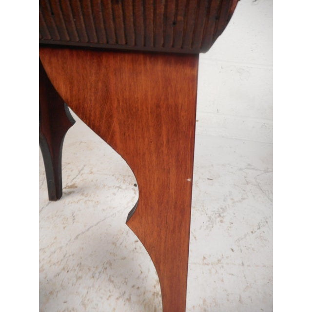 Small Mid-Century Modern Sculpted Side Table or Pedestal For Sale - Image 4 of 6