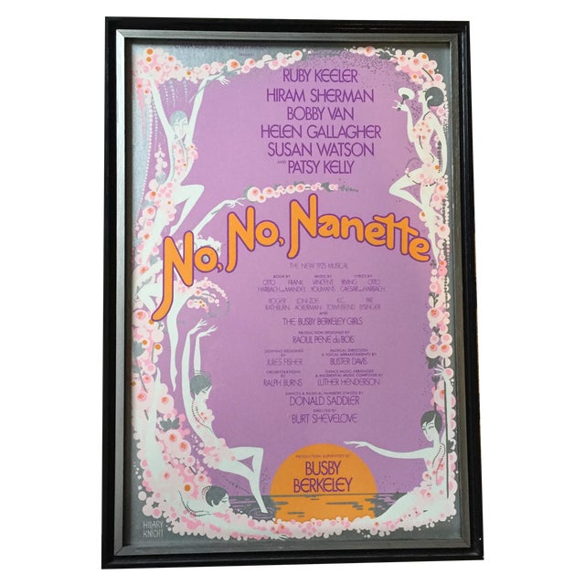 No No Nanette Vintage Poster by Hilary Knight - Image 1 of 5