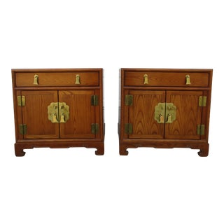 Century Furniture Sobota Collection Nightstands - a Pair For Sale