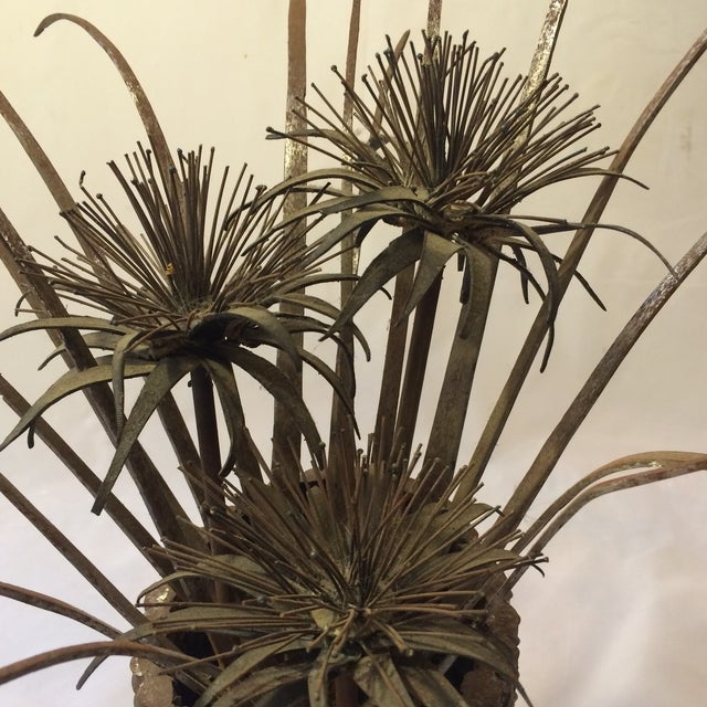 Wild Thistle Brutalist Sculpture - Image 6 of 6