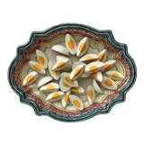 Image of 1930 Majolica Trompe l'Oeil Eggs Platter For Sale