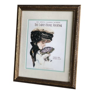 The Ladies Home Journal Magazine Cover Framed Print For Sale