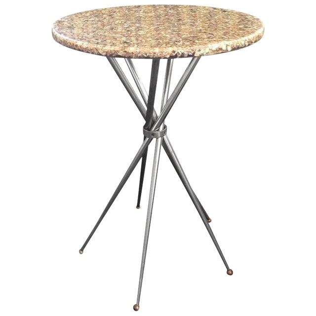Beautiful, Five-Leg Base Gueridon Table - Image 1 of 7