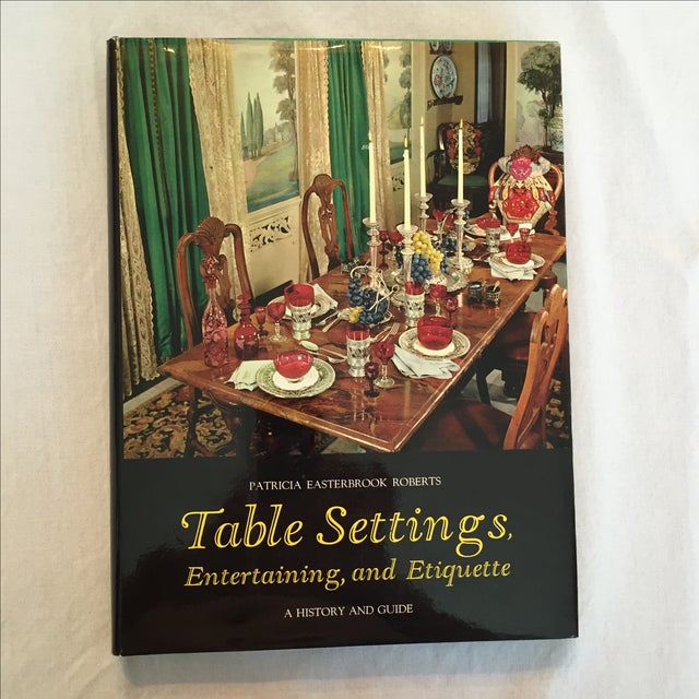 """""""Table Settings"""" Book, 1967 - Image 2 of 5"""
