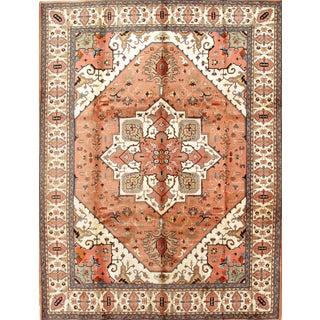 Pasargad Persian Tabriz Heriz Design Area Rug - 9′1″ × 11′10″ For Sale