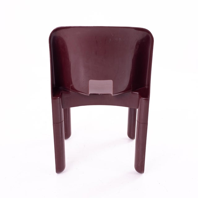 Plastic Joe Colombo Kartell Mid Century Plastic Chairs - Pair For Sale - Image 7 of 10