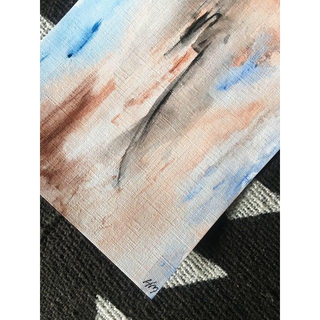 """Atmosphere"" Original Watercolor Painting - Image 4 of 4"