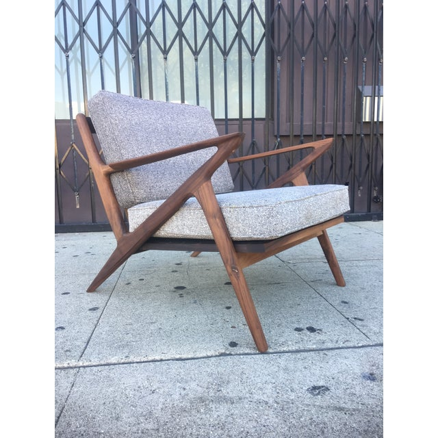 Now available is a stunning newly fabricated Z chair all made in house in Los Angeles CA . This wonderfully solid walnut...