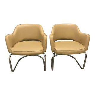 Eero Saarinen Style Chairs - a Pair For Sale