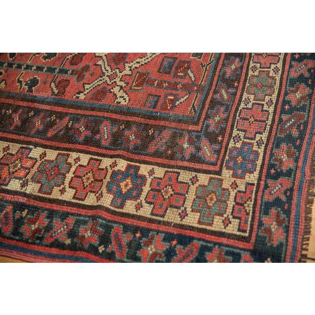 "Vintage Kurdish Square Carpet - 5'5"" X 6'2"" For Sale In New York - Image 6 of 12"