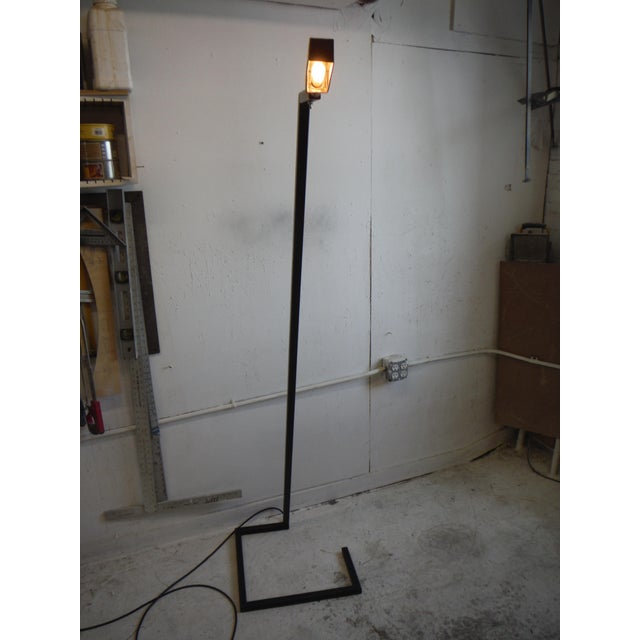 2010s Steel Sketch Floor Lamp For Sale - Image 5 of 7