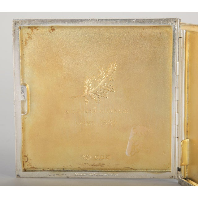 White Silver Cigarette Box For Sale - Image 8 of 13