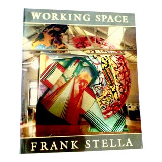 Working Space Illustrated Book by Frank Stella For Sale
