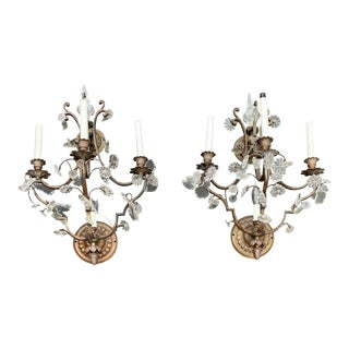 Vintage French Louis XVI Style Sconces - a Pair For Sale
