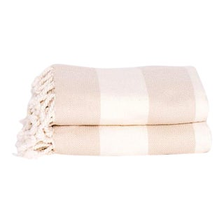 Hamamlique Amalfi Throw in Beige