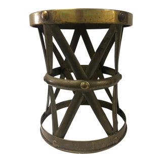 Chinese Brass X-Base Drum Stool