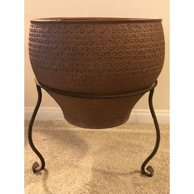 Mid Century Modern Large David Cressey Cheerio Vessel Architectural Pottery For Sale - Image 9 of 13