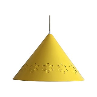 1960s Lightolier Perforated Pendant Light Preview