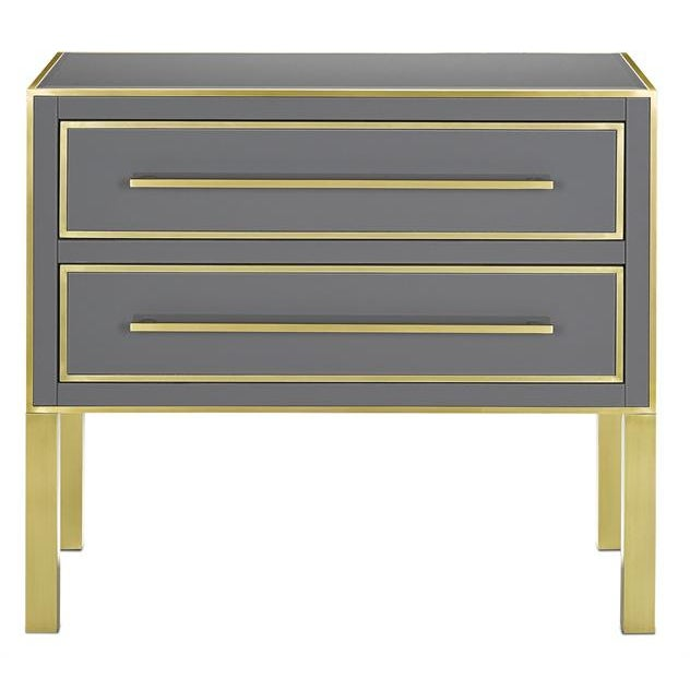 2010s Gray Arden Chest For Sale - Image 5 of 5