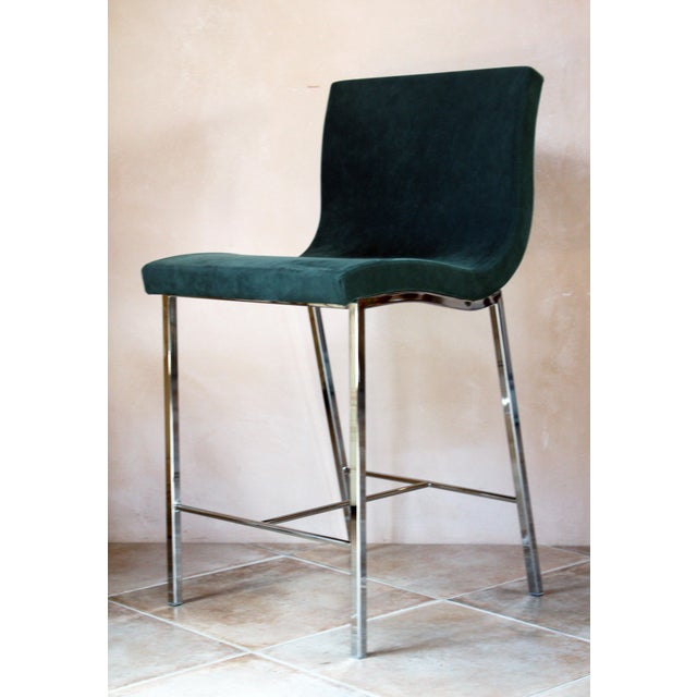 2010s Modern Ligne Roset Counter Stools - a Pair For Sale - Image 5 of 10