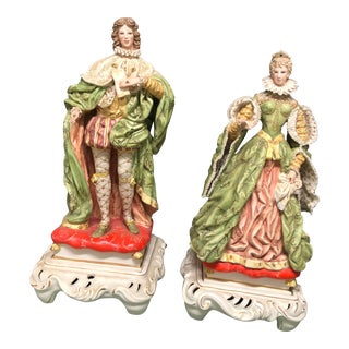 Antique Italian Statues - a Pair For Sale