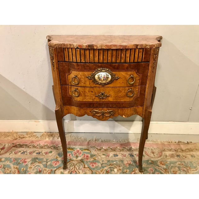 Louis XVI Style Side Table For Sale - Image 9 of 9