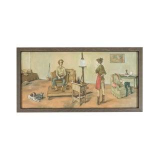 *1969 Painting by American Artist, Alexander Brook