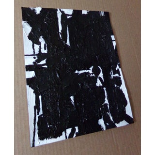 Abstract Painting Original Black and White Art by Brian Elston Preview