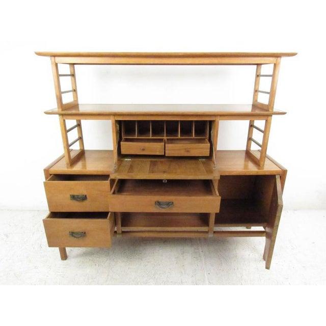 Stiehl Furniture Mid-Century Workstation - Image 3 of 9