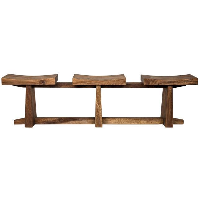 Sango Bench, Munggur Wood For Sale