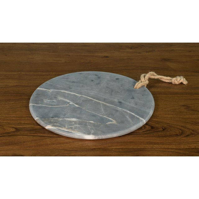 Sarreid Ltd. Marly Marble Plates - a Pair - Image 2 of 3