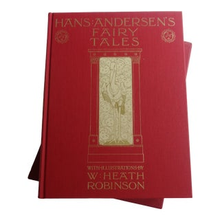 Vintage Childrens Classic Hans Andersen's Fairy Tales Book For Sale
