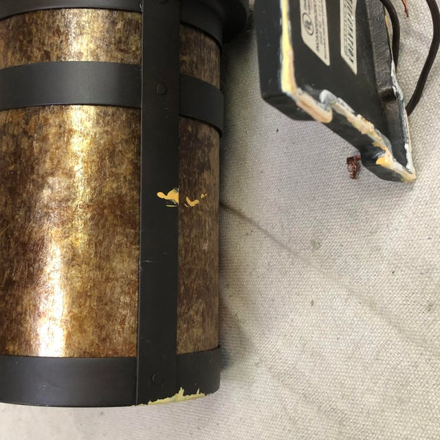 Rejuvenation Brass Lantern Wall Sconce For Sale In Washington DC - Image 6 of 12