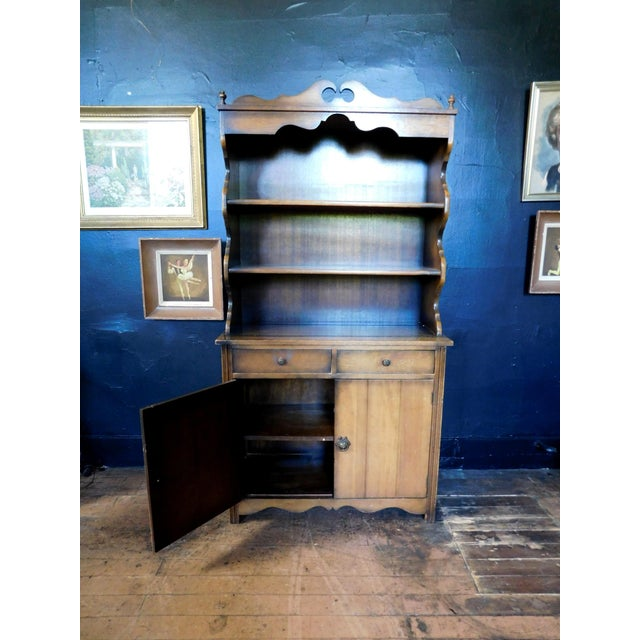 Brown Rustic Casita Wooden Hutch For Sale - Image 8 of 11