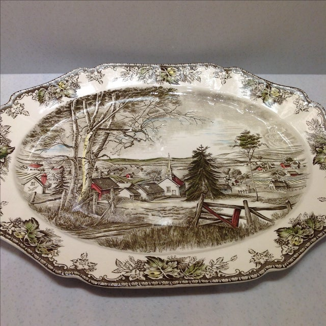 English Platters by Johnson Bros - Set of 2 - Image 5 of 10