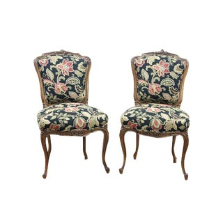 French Provencal Louis XVI Chairs - a Pair