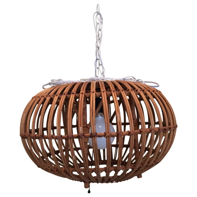 Bentwood Light Fixture For Sale