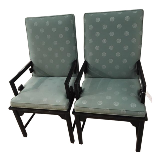 Pair Asian Style Chairs For Sale