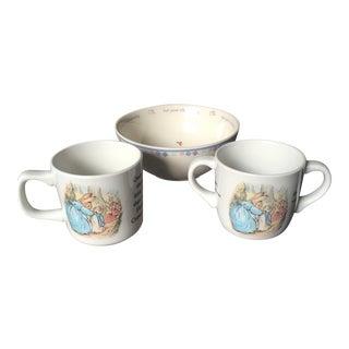 Wedgwood Peter Rabbit Dishes - Set of 3