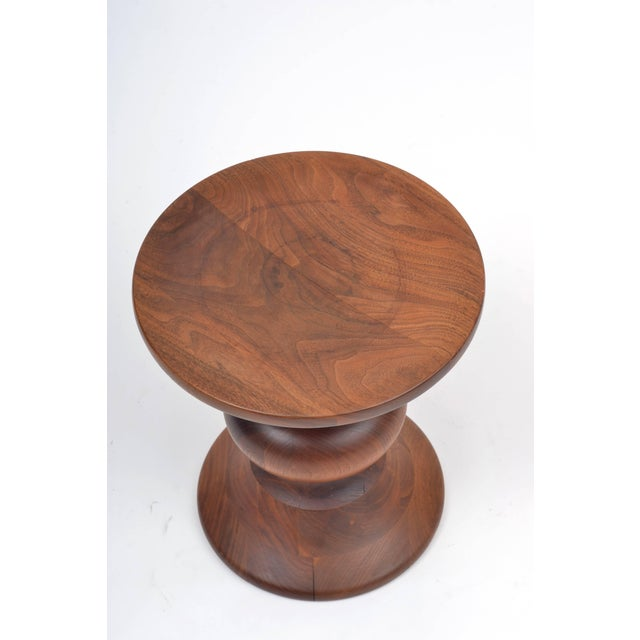Vintage Eames Walnut Time Life Stool Model B, Circa 1960s For Sale In Austin - Image 6 of 11