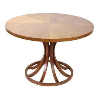1960s Mid-Century Modern Sheaf of Wheat Dining Table For Sale