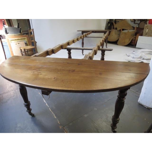 Antique Louis Philippe Dining Table - Image 7 of 8