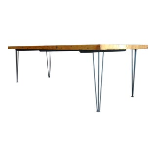 Reclaimed Bowling Alley Lane Table