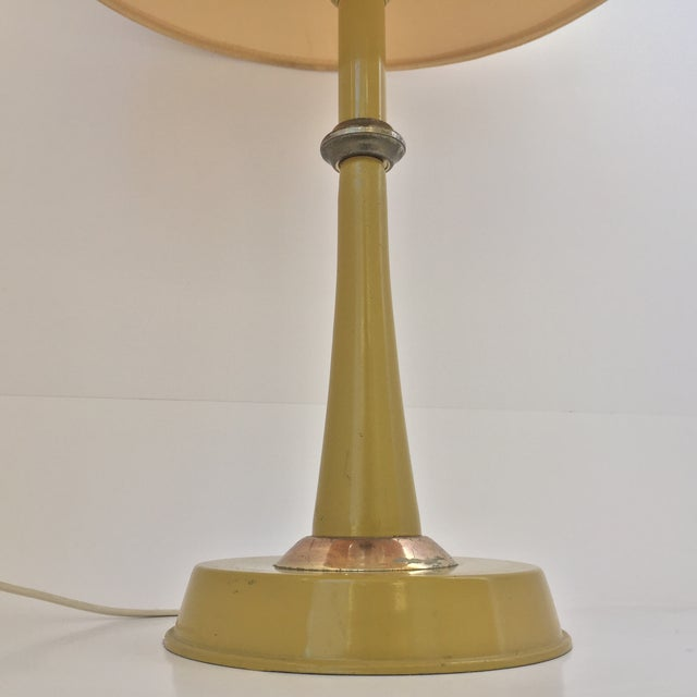 Gerald Thurston Table Lamp in Mustard - Image 3 of 9