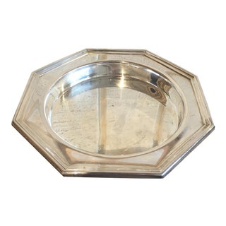 Wallace Silver Plated Wine Coaster