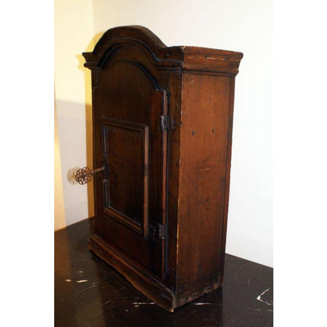 Mid-Century Modern 18th Century Swedish Small Pine Spice Cabinet For Sale - Image 3 of 4
