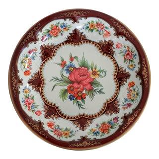 Vintage Daher English Tin Tray For Sale