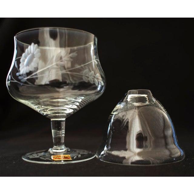 Avitra Handmade Crystal Shrimp Cocktail Glasses & Inserts - Set of 12 - Image 6 of 6