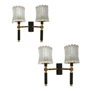 Vintage Maison Arlus French Sconces - a Pair For Sale